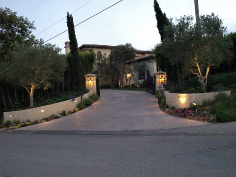 simi valley landscape lighting exterior lighting