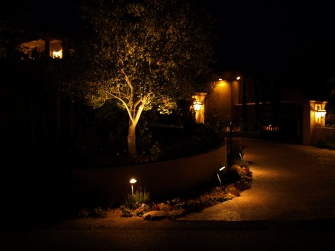 simi valley landscape lighting driveway