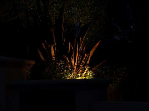 simi valley landscape lighting dramatic lighting