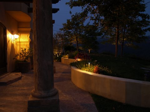 simi valley landscape lighting palthway