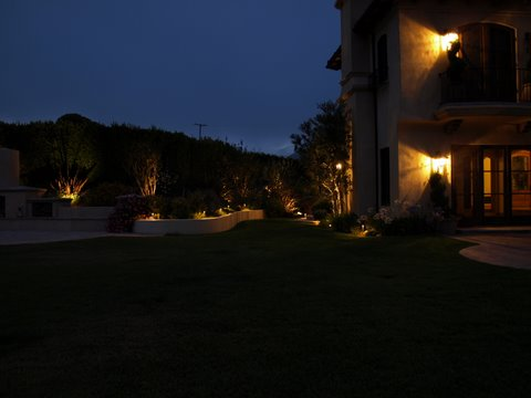 simi valley landscape lighting patio garden