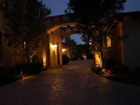 simi valley landscape lighting modern landscape  lighting